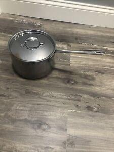all clad master chef 5 quart pot with lid