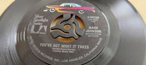 Marv Johnson, I Love The Way You Love, You've Got What It Takes, US, 1960s, XW03