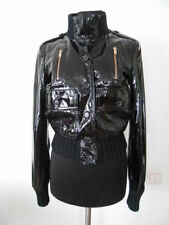 Limited Edition Rare Gucci Women's Madonna Black Leather Jacket Coat Italy 40 4