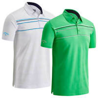 Callaway Engineered Chest Stripe Golf Polo Shirt / New For 2020