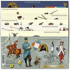 BLOC SOUVENIR N°_69 à 74 SOLDATS DE PLOMB 2012