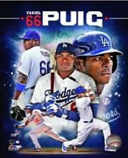 MLB Yasiel Puig Los Angeles Dodgers 2013 NLCS Action Photo 8x10