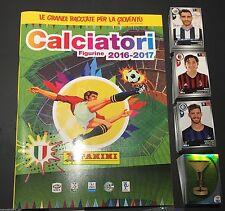 ALBUM CALCIATORI PANINI 2016-17+SET COMPLETO+BUSTINA USCITA 1-2-3-4 + SERIE GOL!