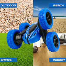 RC Stunt Car 4WD Monster Truck Double Sided Rotating Tumbling 2.4GHz RockCrawler
