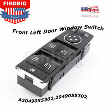 New For Mercedes Benz C250 C300 C350 Front Left Door Window Switch  A2049055302