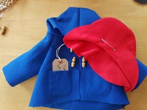 Replacement Coat, Hat And FREE Tag For GABRIELLE Paddington Bear ☆☆FOR CHARITY☆☆