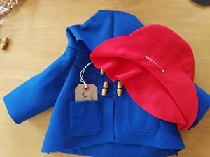 **FOR CHARITY** New Replacement Coat, Hat And Tag For GABRIELLE Paddington Bear