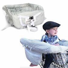 Baby Trolley Shopping Cart Cover Sippy Cup Dummy Toy Strap Trolley High Chair AU