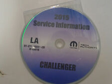2015 Dodge Challenger Service INFORMATION Shop Repair Manual CD DVD BRAND NEW