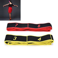 Gymnastics Training Band Pilates Yoga Stretch Resistance Band Fitness Elastic NT