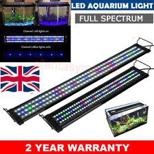 28-116cm Aquarium LED Lighting Lamp White&Blue/RGB Marine Aqua Fish Tank Light