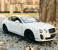 WELLY 1:24 BENTLEY Continental Static Alloy Car Model Men Gift Display