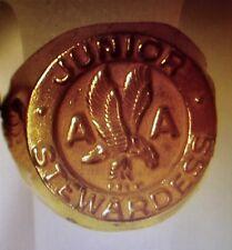 Vintage American Airlines Brass Junior Stewardess Ring