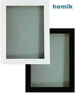 Black Photo Frame White Picture Frame  Poster Frames Walnut Oak 30mm A1 A2 A3 A4