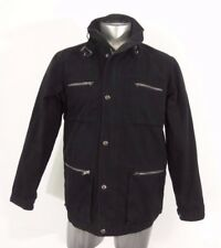 Simon Clark men's fall light weight jacket black S