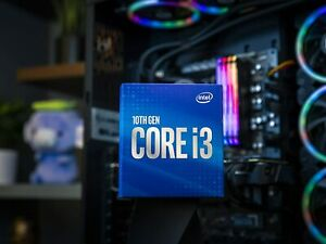 Intel Core i3-10100 (Base Clock 3.60GHz; Socket LGA1200; 65 Watt) Box