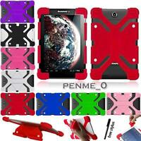 "For 10.1"" Lenovo Tab/Ideatab/Miix/thinkpad -Shockproof Silicone Stand Cover Case"