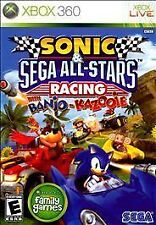 NEW Sonic & and SEGA All-Stars Racing with Banjo Kazooie  (Xbox 360, 2010) NTSC