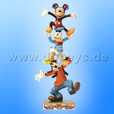 "Disney Traditions ""Goofy, Donald & Mickey (Teetering Tower)"" - Jim Shore"
