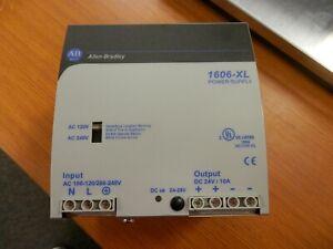 NEW ALLEN BRADLEY 24 VDC POWER SUPPLY 1606-XL240EP SERIES A