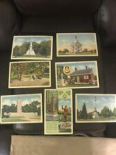 Vintage Old Lot Of 7 Post Cards Marken & Bielfield Inc.