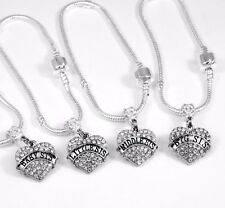4 Sisters Bracelet Set Sister Gift Sister Bangle Sister Present Sister charm