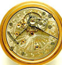 Antique 23 Jewel 18 Size Hamilton 946 Railroad Pocket Watch Ca1905