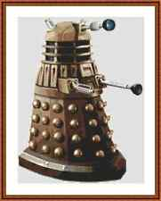 Dr Who Dalek Cross Stitch Kit