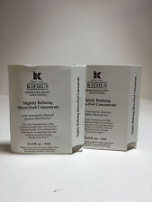 NEW LOT OF 2 KIEHLS NIGHTLY REFINING MICRO-PEEL CONCENTRATE 4ML*2=8ML