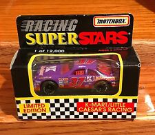 Matchbox 1996 Racing Super Stars #37 K-mart/Little Caesar Racing Diecast