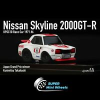 FuelMe 1/64 Q Scale Nissan 2000 GT-R Winner #6 [In Stock]