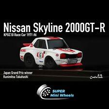 FuelMe 1/64 Q Scale Nissan 2000 GT-R Winner #6 [In Stock]