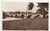 The English Bridge Shrewsbury RP Postcard, B112