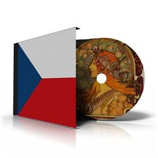 CZECH REPUBLIC STAMP ALBUM PAGES CD 1993-2011 (96 color illustrated pages)