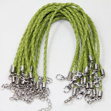 Wholesale Man-made Leather Cord Braid Rope Bracelet DIY Jewelry Making Material