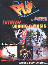 PLA - Extreme Sports and Music (DVD) BMX, surfing, skating, Motocross