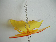 Hanging Butterfly Decoration Yellow Marbles Pendant Garden Diva Yard Decor