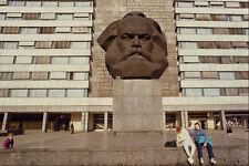 580061 Statua di Karl Marx Chemnitz Sassonia A4 FOTO STAMPA