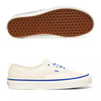 VANS Unisex Anaheim Factory Authentic 44 DX [Beige-Blue] Shoes (VN0A38ENWO9)