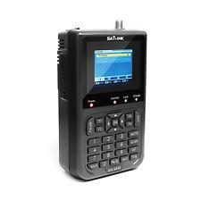 "SATlink WS-6906 Data Digital Satellite Signal Finder Meter 3.5"" LCD DVB-S FTA"
