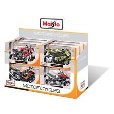 Modellini statici di auto, furgoni e camion motociclette nero Scala 1:12