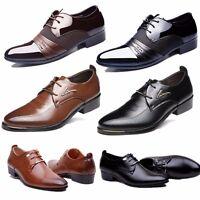 Hombre Vestir Cuero Zapatos Zapatillas Castellano Mocasines Formal Oficina Boda