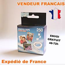 autocollant adhésifs photo double face photo stickers 250 pastilles