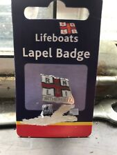 RNLI LIFEBOAT CHARITY BADGE - WITHERNSEA FLAG