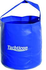 Falteimer 10 Liter, Outdoor Eimer zum Falten, Camping Boot Segeln Fischen Angeln
