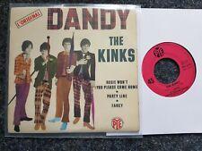 The Kinks - Dandy 7'' EP Single FRANCE