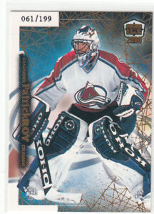 99/00 PACIFIC DYNAGON ICE PATRICK ROY GOLD PARALLEL /199 #59
