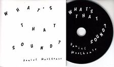 DANIEL WOOLHOUSE What's That Sound? 2016 UK 11-track promo CD Deptford Goth