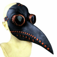 STEAMPUNK BIRD DOCTOR PLAGUE MASK LONG BEAK COSPLAY PARTY HALLOWEEN COSTUME SUPE