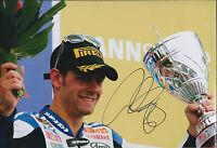Cal CRUTCHLOW SIGNED YAMAHA Autograph 12x8 Photo British AFTAL COA MOTOGP Podium